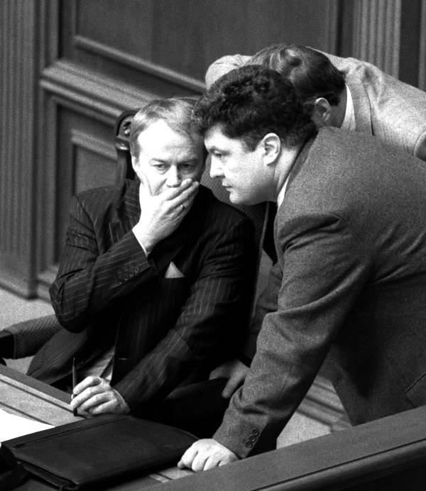 Петро Порошенко та Олександр Зінченко